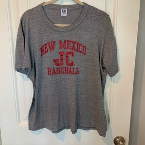 Vintage New Mexico JC Baseball single stitch tee